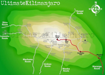 tanzania-mount-kilimanjaro-marangu-route-map
